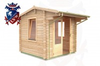 Log Cabins Brighton 2.35m x 2.35m - 048 2