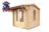 Log Cabins Brighton 2.35m x 2.35m - 048 3