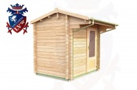 Log Cabins Piddinghoe 2.35m x 1.75m - 050 3