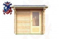Log Cabins Piddinghoe 2.35m x 1.75m - 050 1