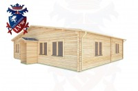 Log Cabins Hassocks11.0m x9.0m -290 2