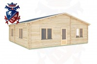 Log Cabins Linchmere 8.0m x 8.0m -289 3