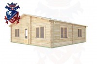 Log Cabins Linchmere 8.0m x 8.0m -289 2