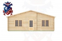 Log Cabins Linchmere 8.0m x 8.0m -289 1