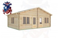 Log Cabins Habin 7.0m x 5.0m -288 2