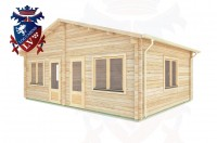 Log Cabins Habin 7.0m x 5.0m -288 3