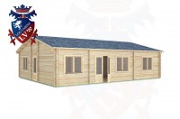 Log Cabins Slindon 10.5m x 8.0m -306 2