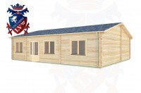 Log Cabins Slindon 10.5m x 8.0m -306 3