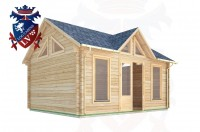 Log Cabins Forest Row 5.0m x 4.0m - 057 3