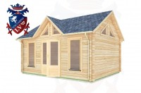 Log Cabins Forest Row 5.0m x 4.0m - 057 2