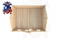 Log Cabins Forest Row 5.0m x 4.0m - 057 4