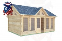 Log Cabins Clive Vale 5.5m x 4.0m - 062 2