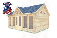 Log Cabins Clive Vale 5.5m x 4.0m - 062 3