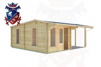 Log Cabins Blackness 6.0m x 5.5m - 067 2