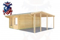 Log Cabins Blackness 6.0m x 5.5m - 0673