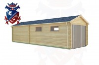 Log Cabins Jenkins' Green 9.5m x 3.0m - 162 3