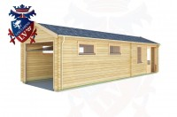 Log Cabins Jenkins' Green 9.5m x 3.0m - 162 2