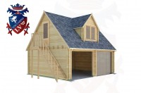Log Cabins South Heighton 6.0m x 5.0m - 163 2