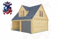 Log Cabins South Heighton 6.0m x 5.0m - 163 3