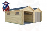 Log Cabins Norton 6.0m x 5.0m - 164 2