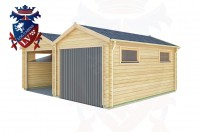 Log Cabins Norton 6.0m x 5.0m - 164 3
