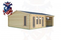 Log Cabins West Hill 7.0m x 6.0m - 165 2