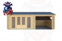 Log Cabins West Hill 7.0m x 6.0m - 165 1