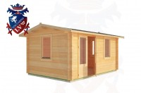 Log Cabins Ore Valley 4.0m x 3.0m - 178 2