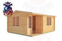 Log Cabins Wadhurst 5.0m x 4.0m - 179 3