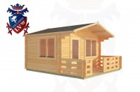Log Cabins Hampden Park 4.0m x 3.0m - 180 3