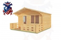 Log Cabins Hampden Park 4.0m x 3.0m - 180 2