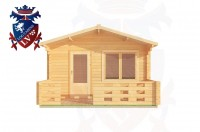Log Cabins Hampden Park 4.0m x 3.0m - 180 1