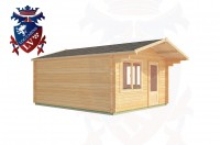 Log Cabins Cock Marling 4.0m x 5.0m - 181 3
