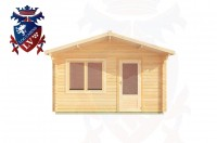 Log Cabins Cock Marling 4.0m x 5.0m - 181 1