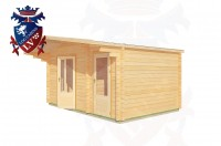 Log Cabins Barcombe Mills 4.5m x 3.0m - 182 3