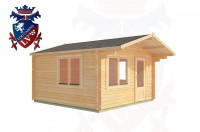 Log Cabins Jenkins' Green 4.0m x 5.0m - 185 2