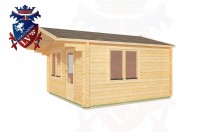 Log Cabins Jenkins' Green 4.0m x 5.0m - 185 3