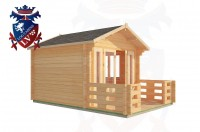 Log Cabins Beachlands 3.0m x 3.0m - 186 2