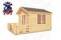 Log Cabins Beachlands 3.0m x 3.0m - 186 3