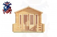 Log Cabins Beachlands 3.0m x 3.0m - 186 1