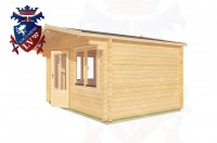 Log Cabins High Wickham 4.0m x 3.0m - 187 3