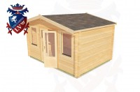 Log Cabins Halton 4.0m x 3.0m - 188 3