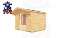 Log Cabins Telscombe Cliffs 3.0m x 2.6m - 190 3