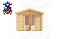 Log Cabins Telscombe Cliffs 3.0m x 2.6m - 190 1