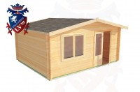 Log Cabins Upperton 5.0m x 4.0m - 191 2