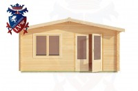 Log Cabins Upperton 5.0m x 4.0m - 191 1