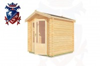 Log Cabins Four Oaks 2.0m x 2.0m - 192 3
