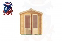 Log Cabins Four Oaks 2.0m x 2.0m - 192 1