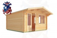 Log Cabins Boars Head 4.0m x 4.0m - 194 3