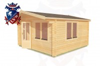 Log Cabins Boars Head 4.0m x 4.0m - 194 2